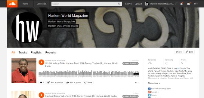 hwmag on soundcloud screen shot