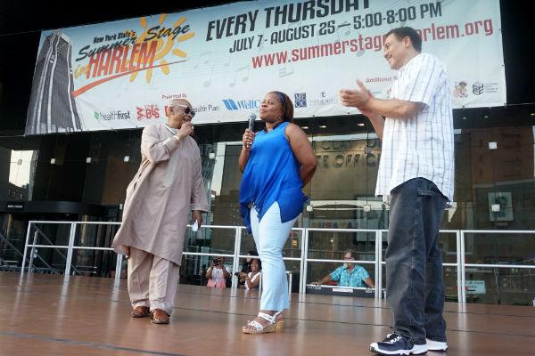 Seitu's World: Summerstage On 125th Street In Harlem