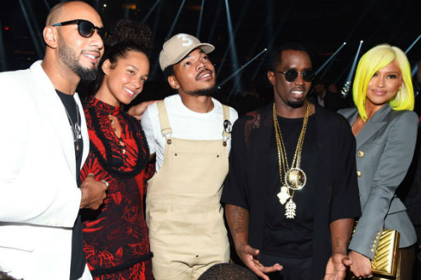 Harlem's Keys And Diddy Do It At The 2016 VMA's