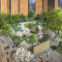Ground Broken For Renovation Of MLK Park In Harlem
