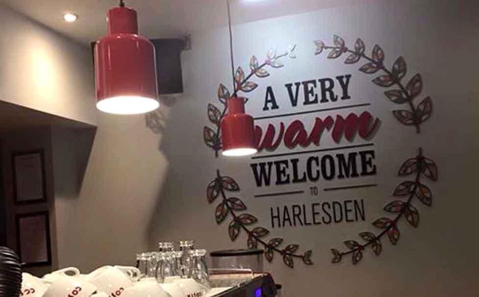 Costa Harlesden open for business