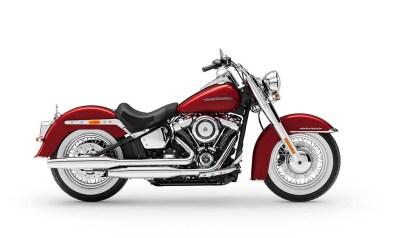 Motocykel Harley-Davidson Softail Deluxe