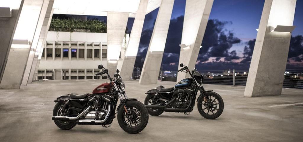 NOVINKY 2018 motocykle Harley-Davidson Sportster Forty Eight Special a Iron 1200