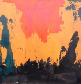 Primordial Landscape Painting