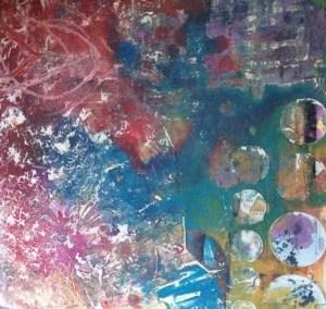 Ocean Current Series Painting