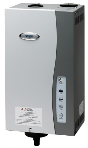 Aprilaire True Steam Humidifer- can be installed on furnace duct work or be remote mounted on a wall