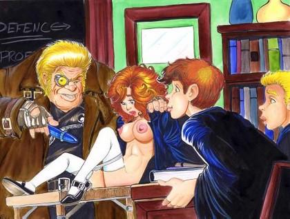 hermione 3d porn