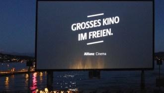 Allianz Cinema 2016 Kino am See Zürich