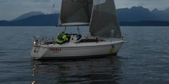 Rett seilsett i null vind på en Fenix?