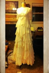 Lauren's Dress Framed