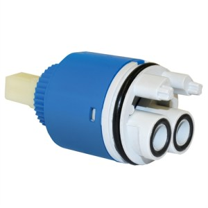 European 35mm open outlet tap cartridge