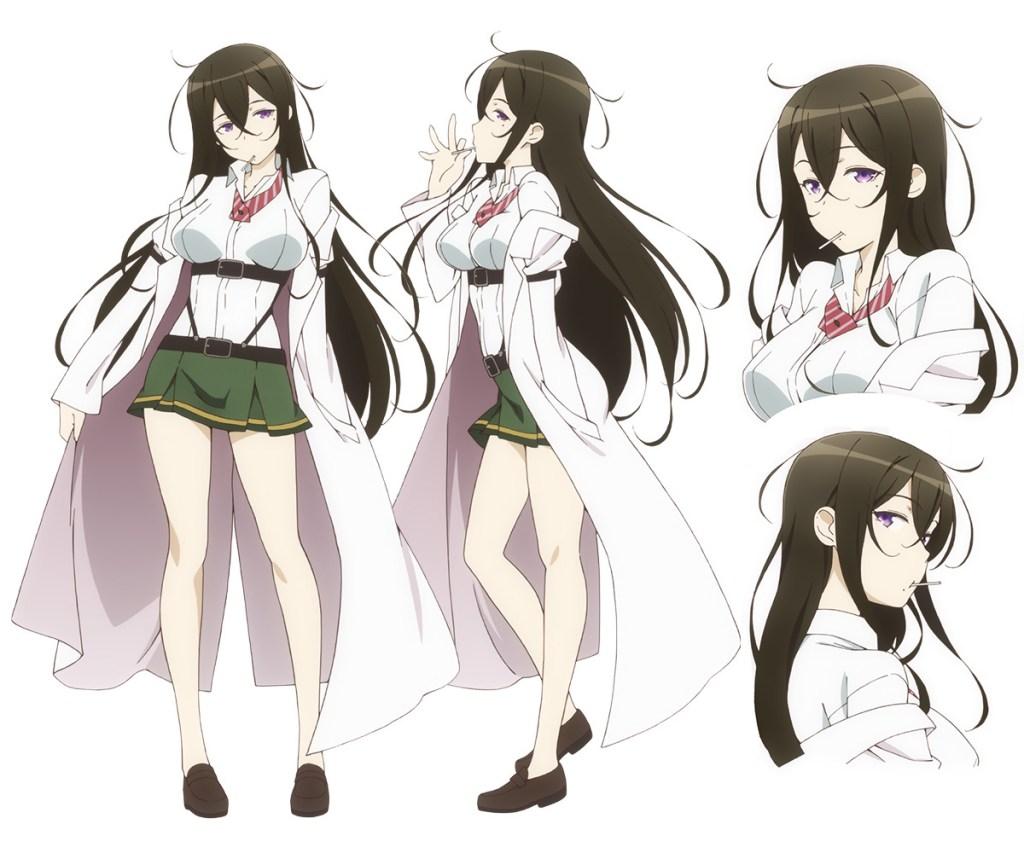 35 Shoutai Character Design Ikaruga