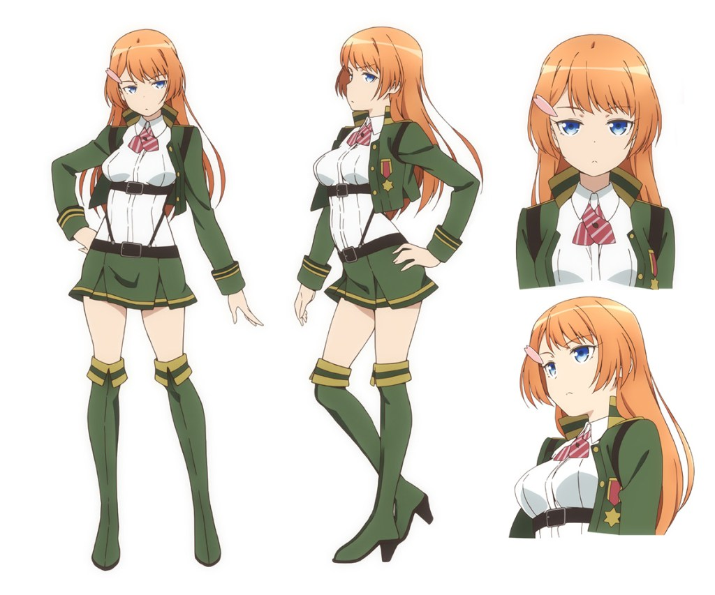 35 Shoutai Character Design Ouka
