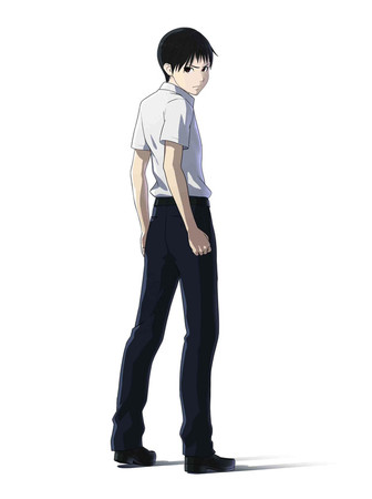 Ajin TV Anime Character design 1