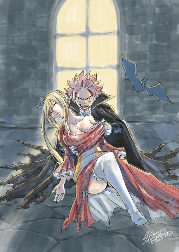 Fairy Tail Gets Spooky with New Halloween Sketches 1