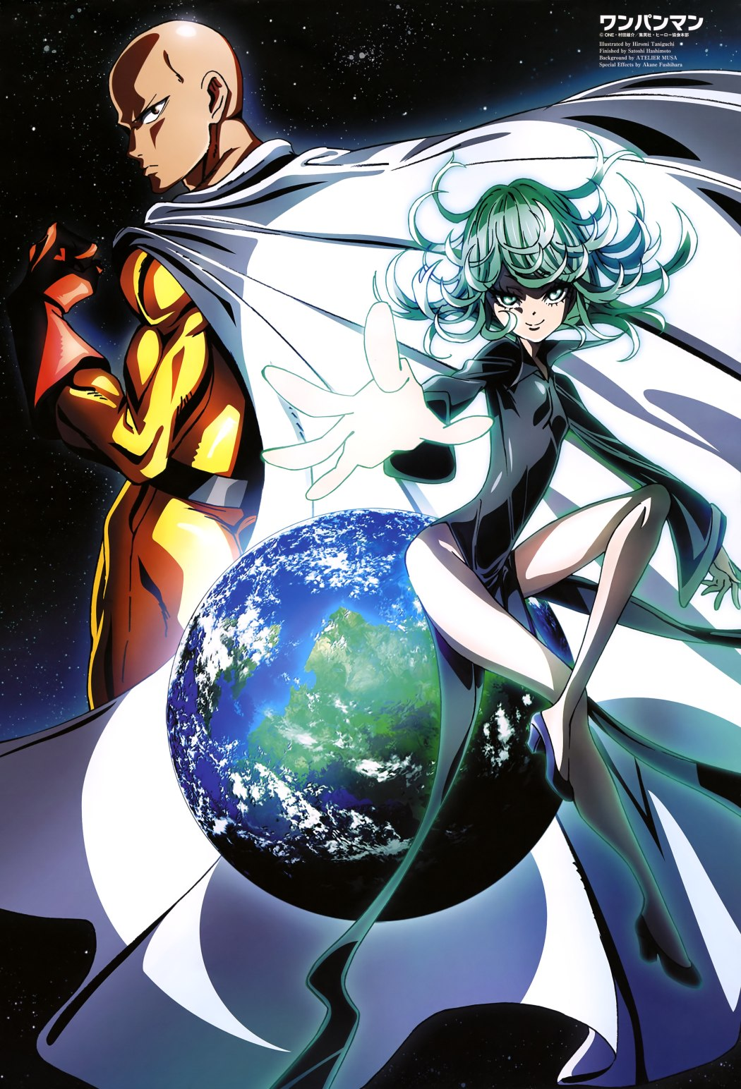 Fascinating Saitama and Tatsumaki Poster Revealed