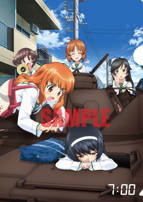 Girls Und Panzer Movie Clear Files Anime Illustration 002