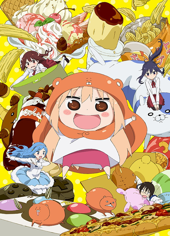 Himouto! Umaru-chan anime visual