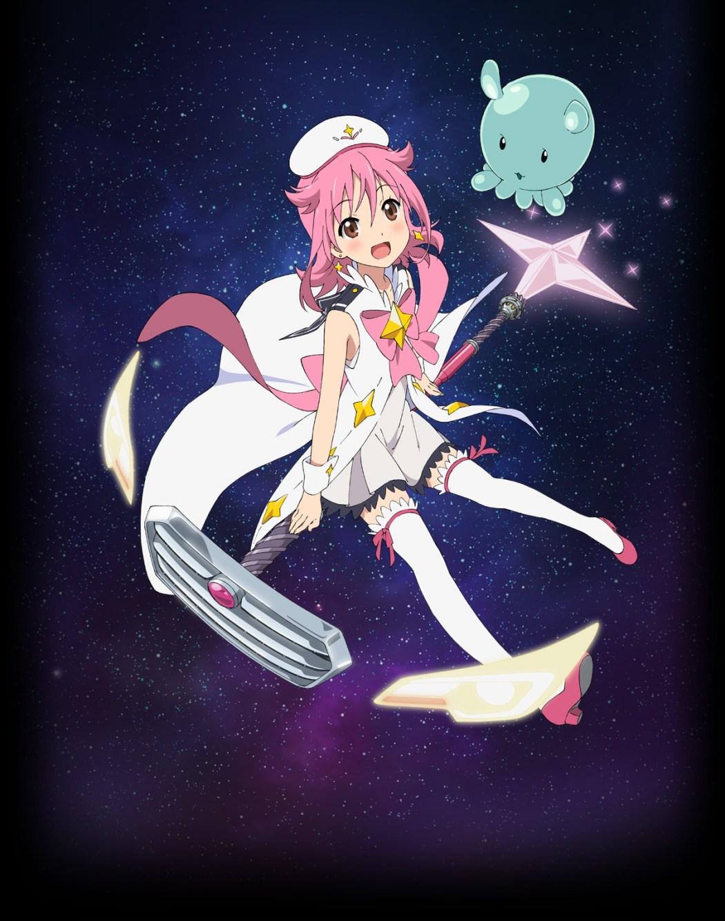Houkago no Pleiades character design haruhichan.com wish upon the pleiades character design Subaru