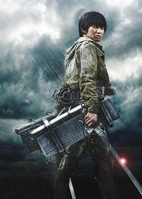 Live-Action Attack on Titan Cast Reveals Armin Isn't Blonde and Hanji Has a RPG haruhichan.com shingeki no kyonjin live action movie Kanata Hongo as Armin