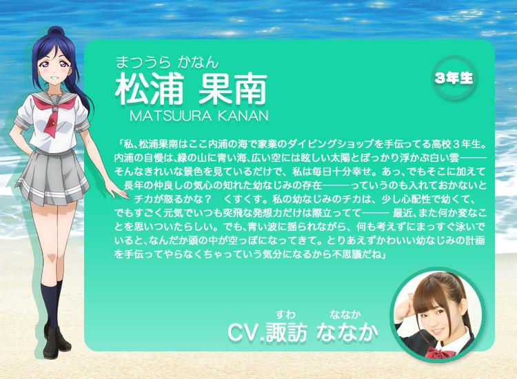 Love-Live-Sunshine-Anime-Character-Design-Kanan-Matsuura