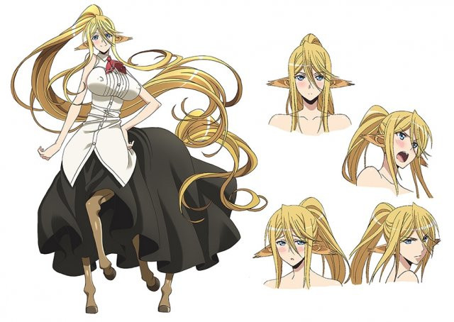 Monster Musume Official Preview Video, Seiyuus and Character Designs Revealed 3
