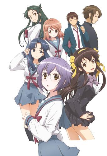 New the Disappearance of Nagato Yuki-Chan Visual Revealed haruhichan.com The Vanishing of Nagato Yuki-Chan visual