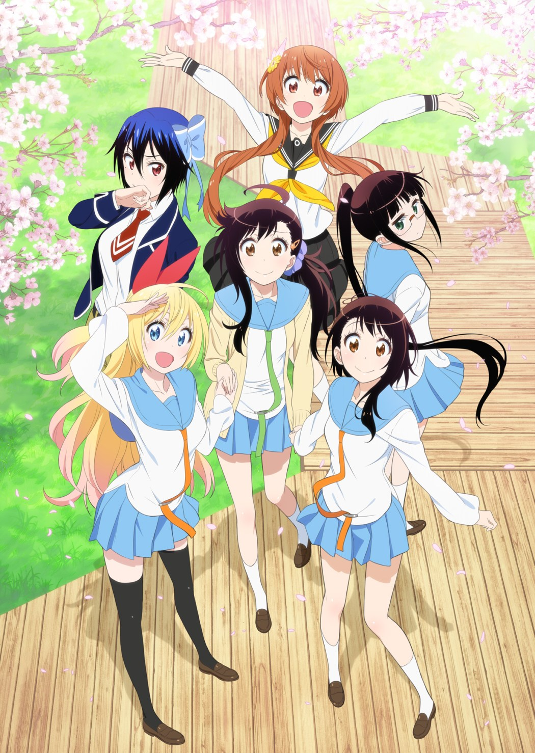 Nisekoi Season 2 Visual Revealed nisekoi 2nd season anime visual