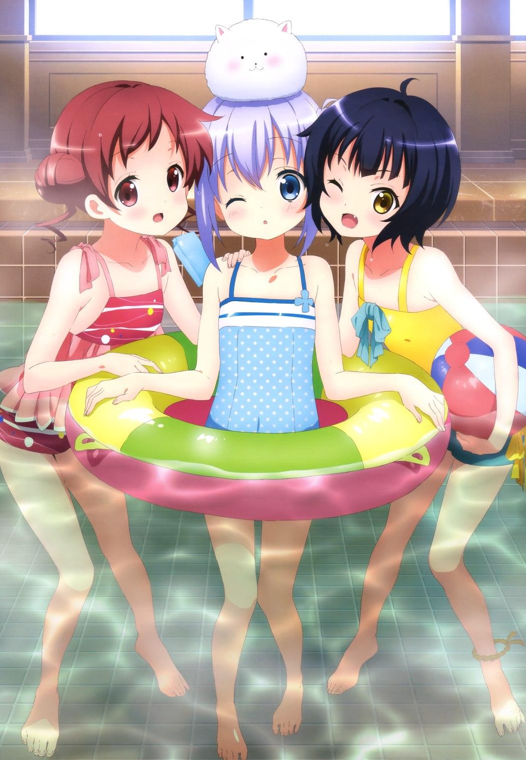 NyanType Magazine November 2015 anime posters gochuumon wa usagi desu ka