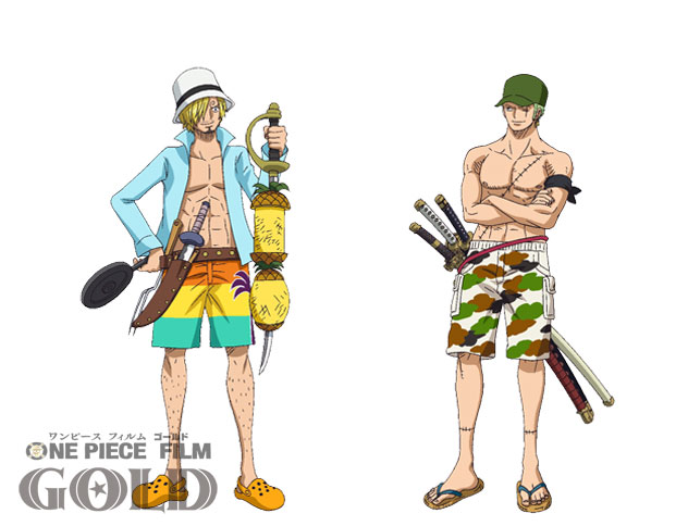 One Piece Film Gold Character Designs 0020