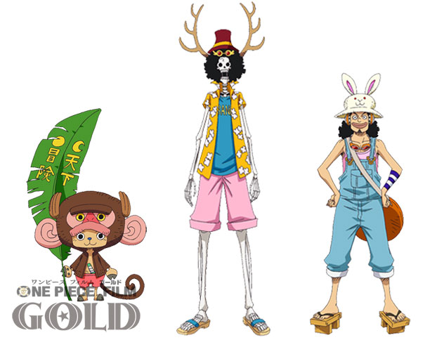 One Piece Film Gold Character Designs 0022