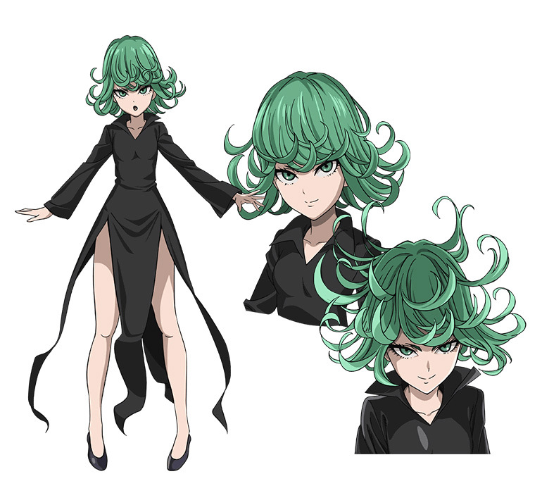 One Punch Man Character Design Tornado of Terror