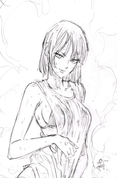 One Punch Man Yuusuke Murata Sketch 1