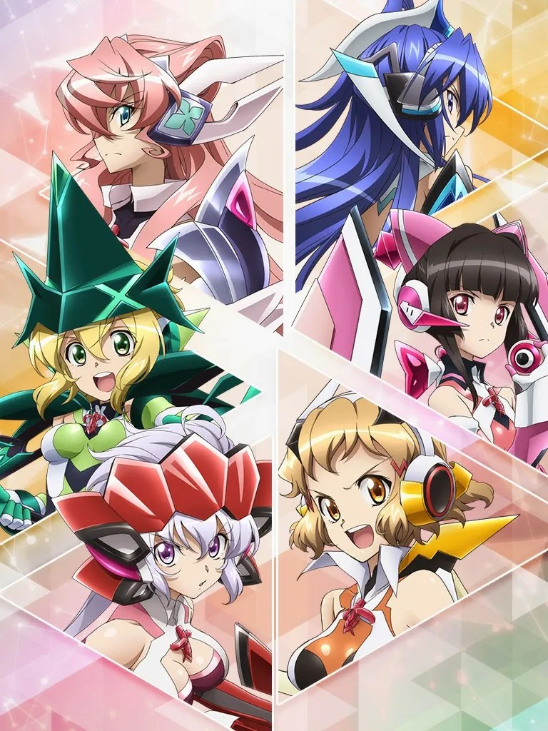Senki Zesshou Symphogear GX anime visual