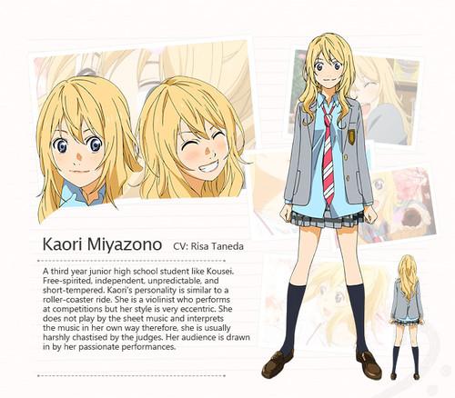 Shigatsu wa Kimi no Uso Kaori Miyazono haruhichan.com Your Lie in April anime
