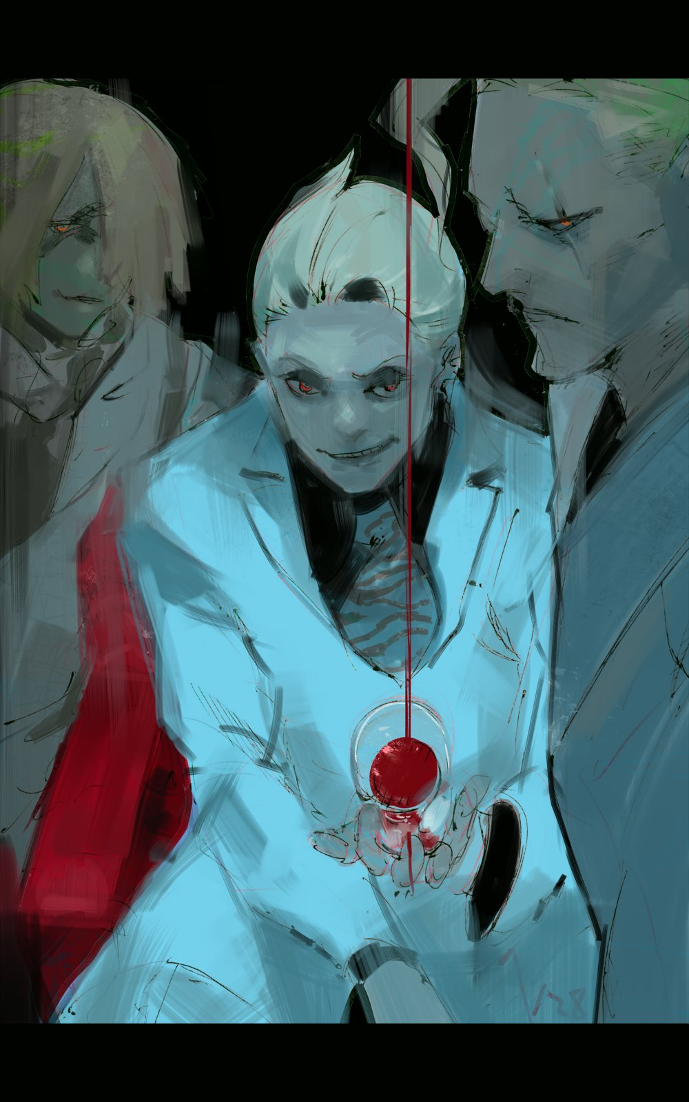 Tokyo Ghoul Author Sketches a Birthday Tribute for Naki