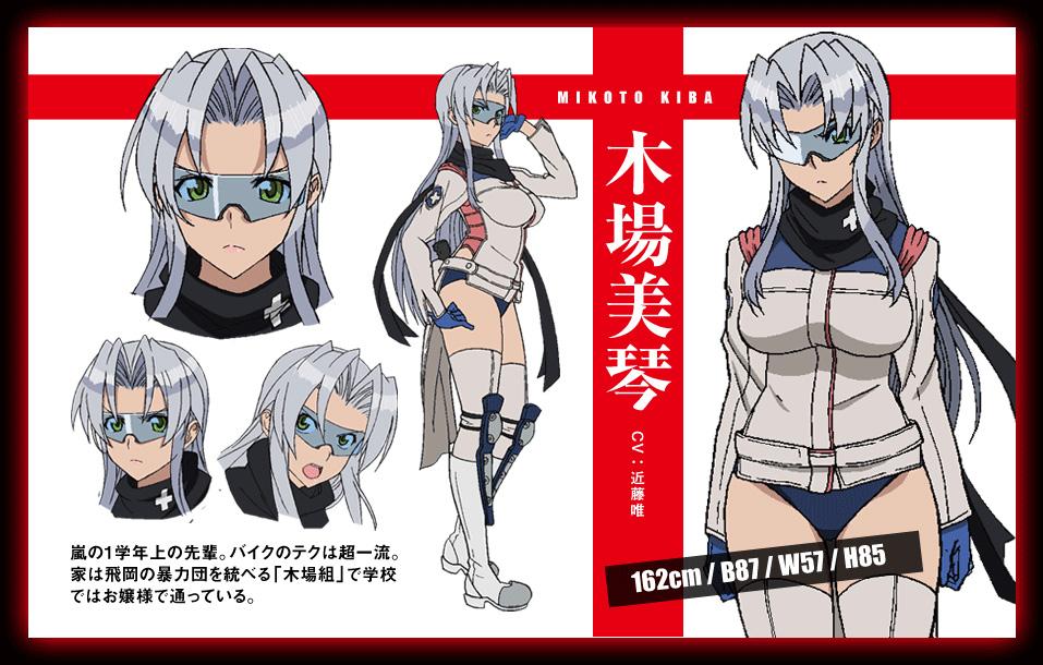 Triage X_Haruhichan.com-Anime-Character-Design-Mikoto-Kiba