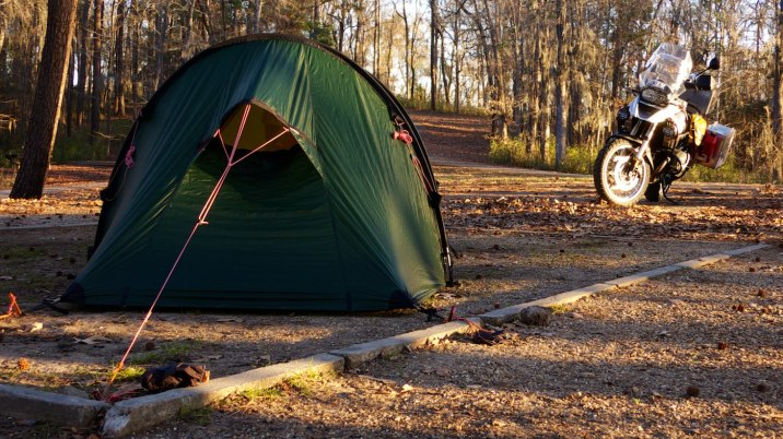 These Hilleberg tunnel tents are spacious for the weight and bulk, but they need a large area to pitch -- sometimes corner to corner just to fit.