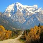 Mount Robson, Jasper National Park, British Columbia.