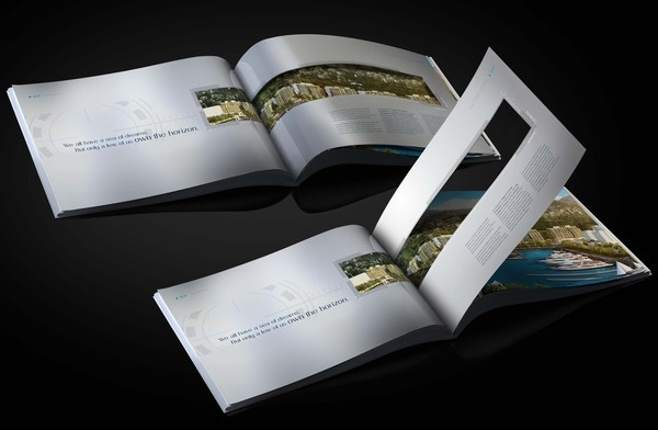 30  Real Estate Brochure Designs for Inspiration   Hative real estate brochure waterfront