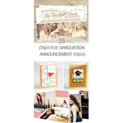 Small Crop Of Graduation Announcement Ideas