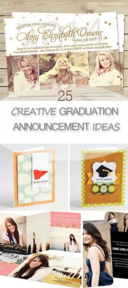 Small Of Graduation Announcement Ideas