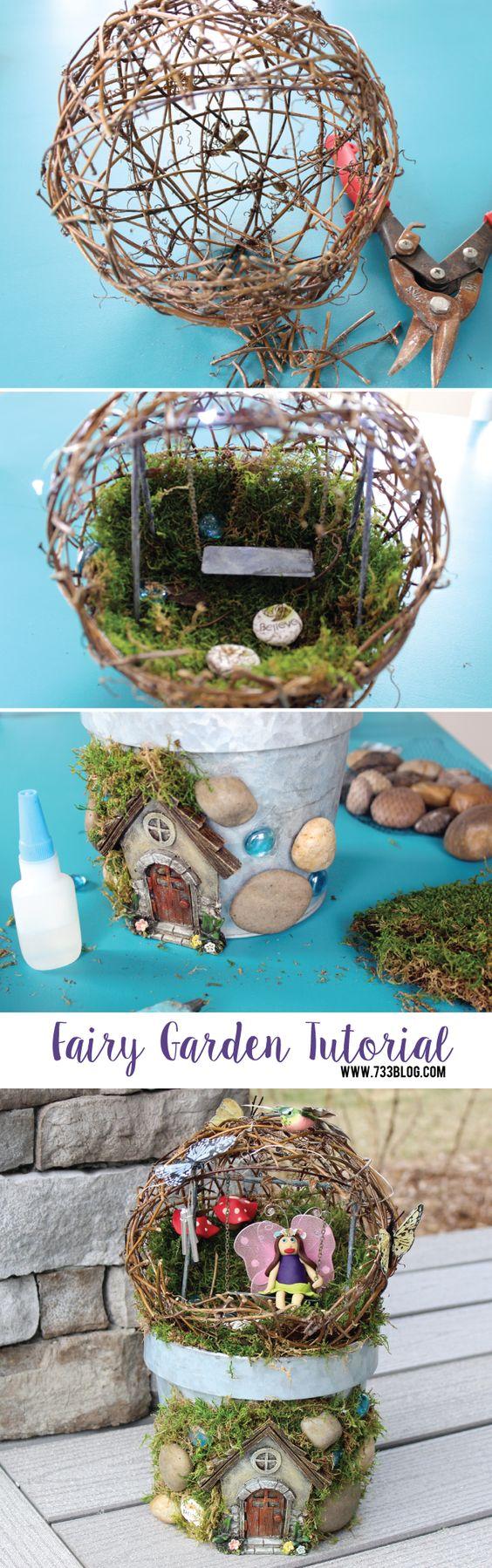 Marvellous Diy Fairy Garden Sphere On Miniature Fairy Garden Diy Fairy Garden Ideas Hative Diy Fairy Garden Supplies Diy Fairy Garden Mushrooms garden Diy Fairy Garden