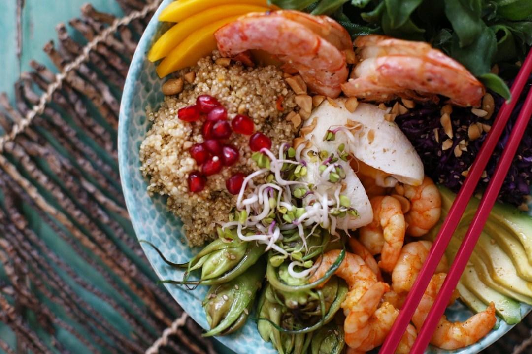 Asiatische Foodbowl