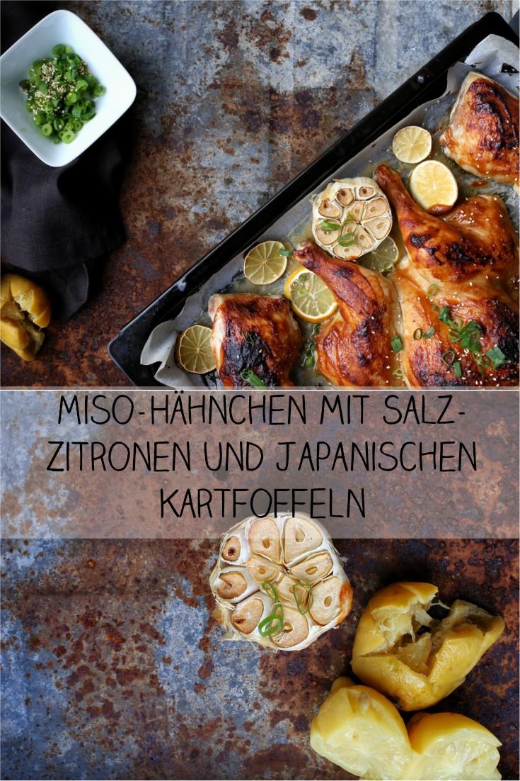 Miso-Hähnchen mit Salz-Zitrone