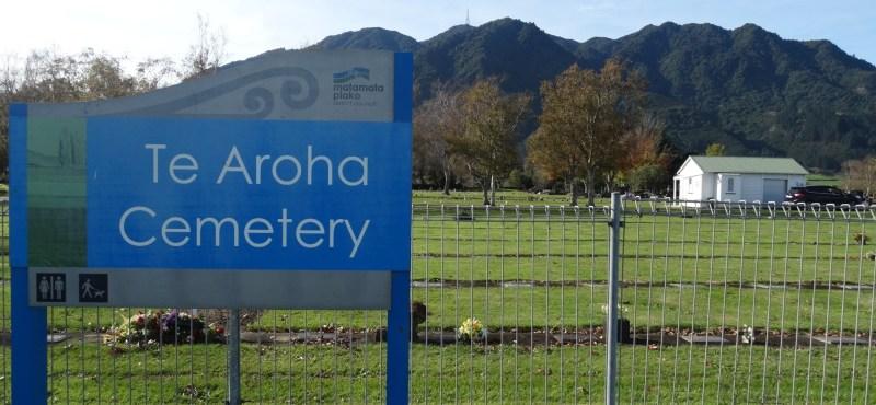 Te Aroha Cemetery – Te Aroha