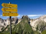 Blick zur Freispitze