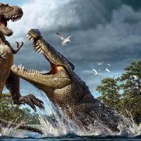 Modernien eläimien esi-isät olivat kauhistuttavan suuria! - Katso kuvasarja