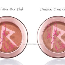 RiRi ♥ MAC blush and cream base colour