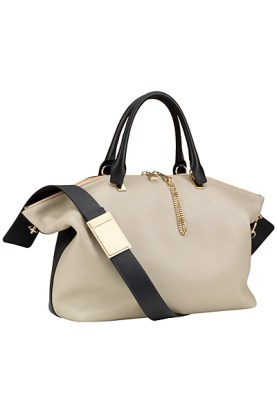 Chloé Baylee two-tone handbag